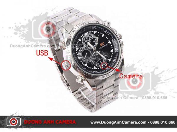 Camera ngụy trang Đồng hồ đeo tay chống nước A2