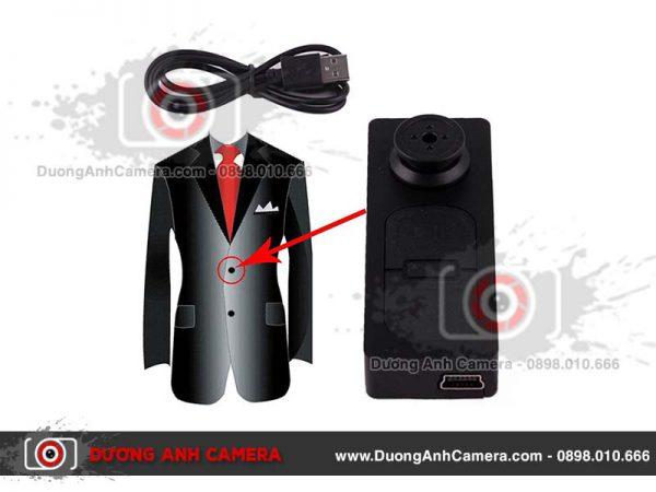 Camera ngụy trang Cúc áo P14 siêu nhỏ kín đáo