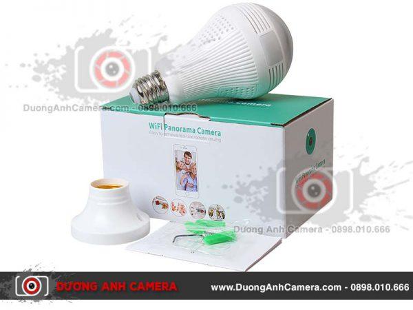 Camera ngụy trang bóng đèn Led Panorama JW-DP313 -Quay video 360 độ