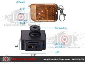 Camera 4K ngụy trang Cúc áo T9 Quay video 4K – Điều khiển từ xa