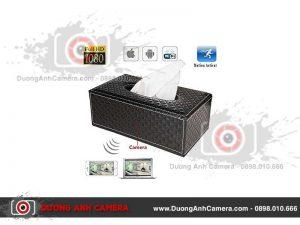 Camera ngụy trang Hộp khăn giấy - Quay video Full HD - Wifi