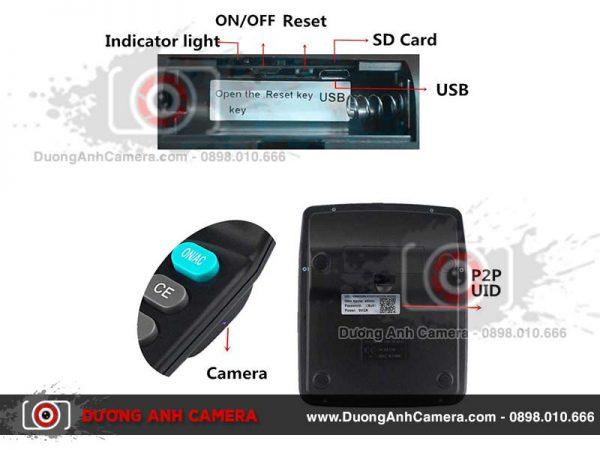 Camera ngụy trang Máy tính cầm tay CL20