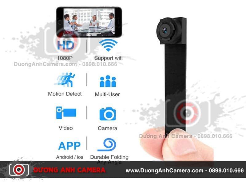 Camera ngụy trang mini siêu nhỏ S200