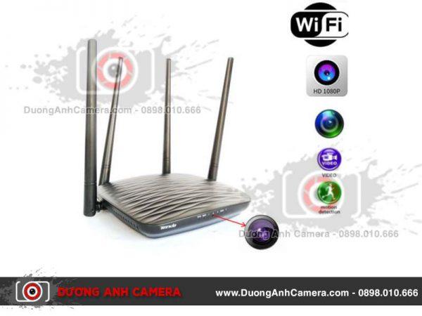 Camera ngụy trang Router wifi Tenda quay video 4K