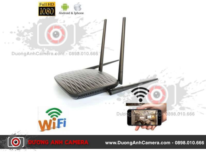 Camera ngụy trang bộ phát wifi Tenda