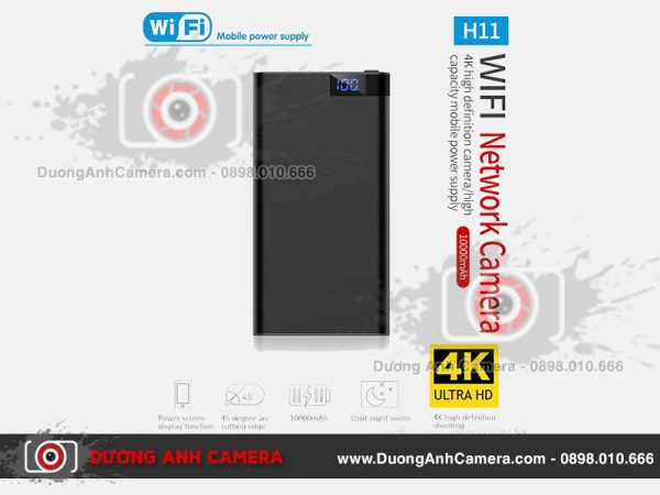 Camera ngụy trang Sạc dự phòng H11 - 10.000Mah
