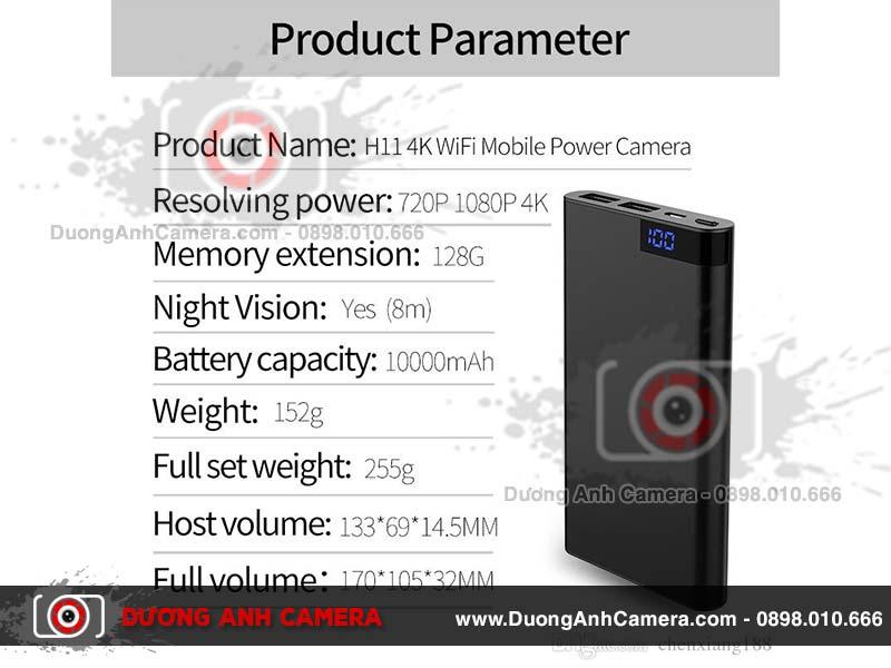 Camera ngụy trang H11 thiết kế vẻ ngoài hoàn hảo Camera-nguy-trang-sac-du-phong-h11-3