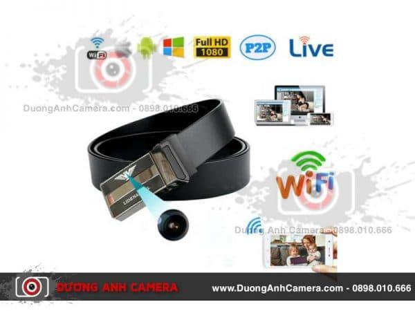 Camera ngụy trang Thắt lưng da DA04