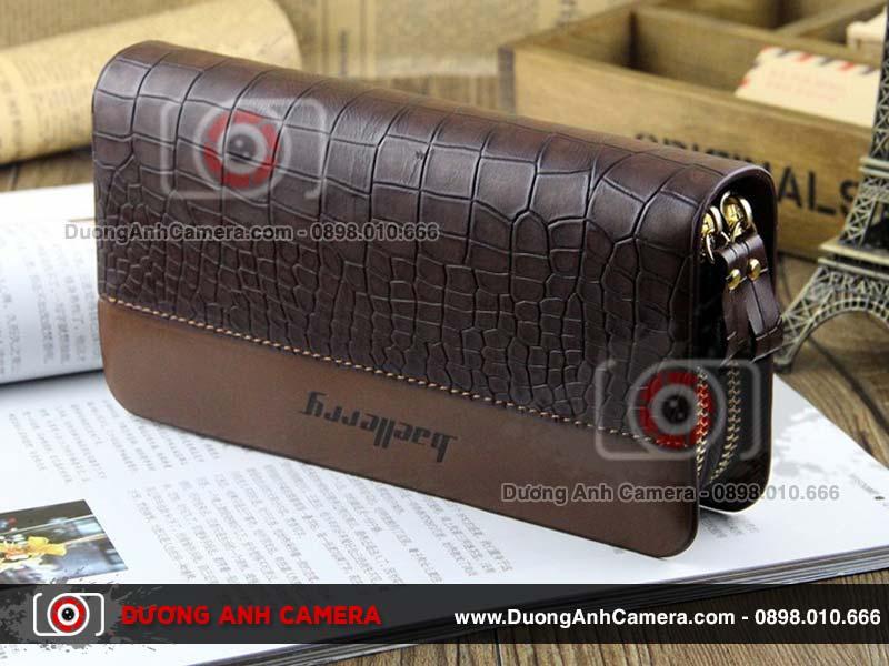 Camera ngụy trang Ví da Baellery DA05W - Quay video 4K