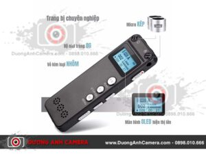 Máy ghi âm cao cấp DVR500 - 8Gb