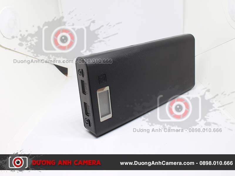 Định vị Nghe lén ngụy trang Pin dự phòng LCD Power Station A8 20.000Mah