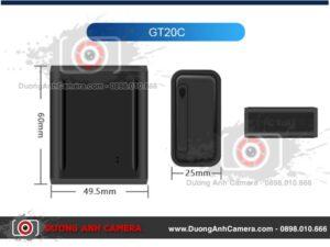 Thiết bị Định vị Nghe lén – GPS Tracker GT20C