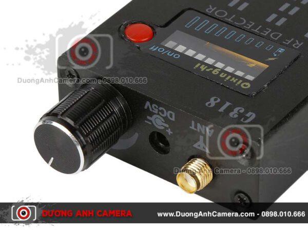 Máy phát hiện Nghe lén Quay lén G318 RF Detector