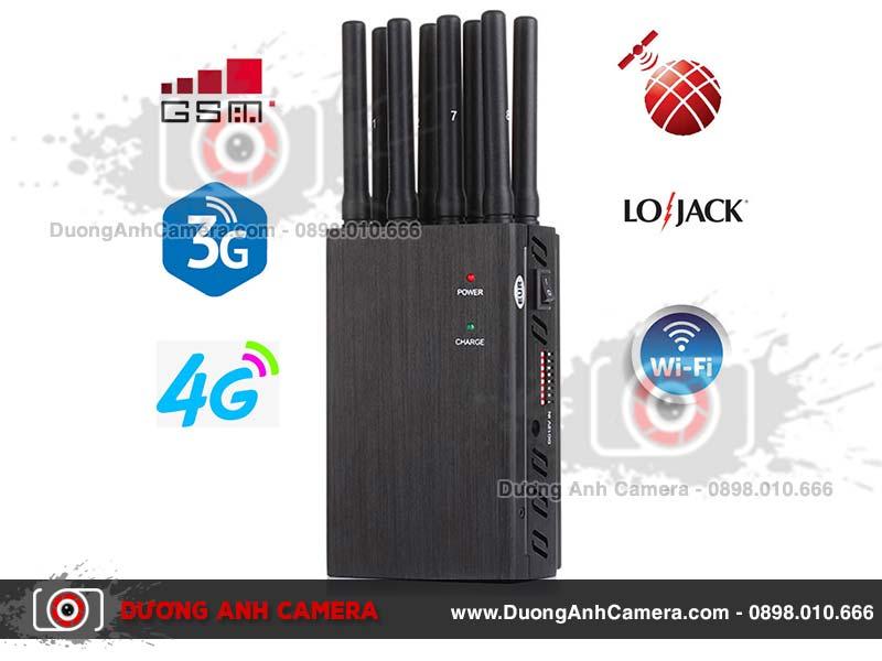 Thiết bị gây nhiễu sóng SJ8 - 8 Anten
